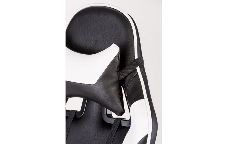 Офисные кресла: купить Кресло ExtremeRace black/white - 8