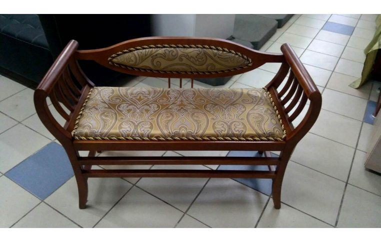 Мягкая мебель: купить Банкетка Б1 С1 орех, золото - 1