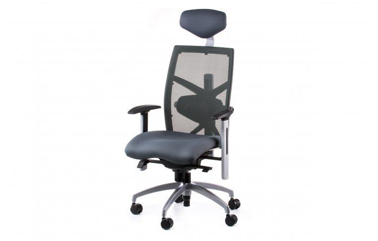 Офисные кресла: купить Кресло EXACT SLATEGREY FABRIC, SLATEGREY MESH - 1