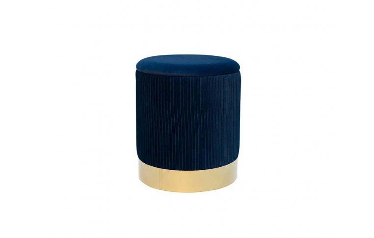 Пуфы: купить Пуф Томас мягкий синий - 1