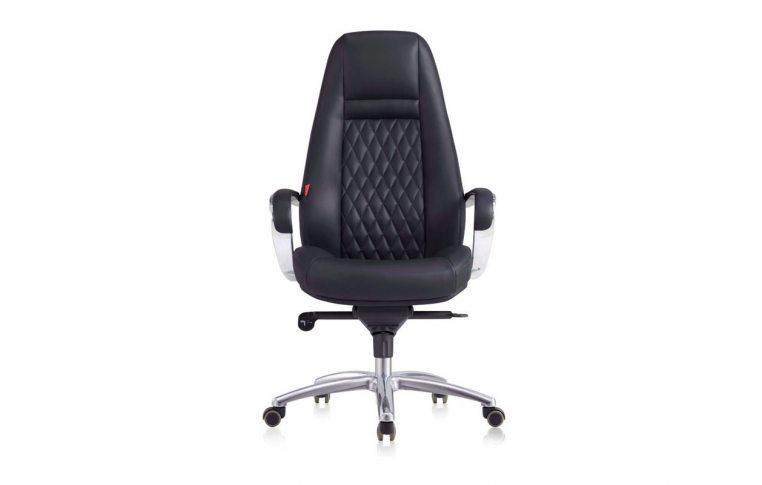 Кресла для руководителя: купить Кресло F185 BE черный - 4