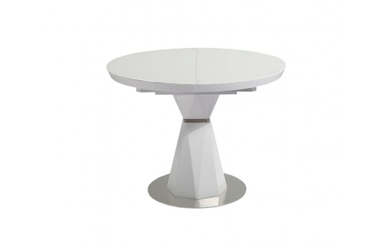 Кухонные столы: купить Стол Раунд белый - 1