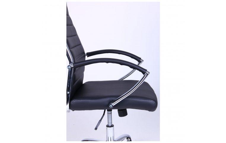 Кресла для руководителя: купить Кресло Jet HB XH-637 черный AMF - 3