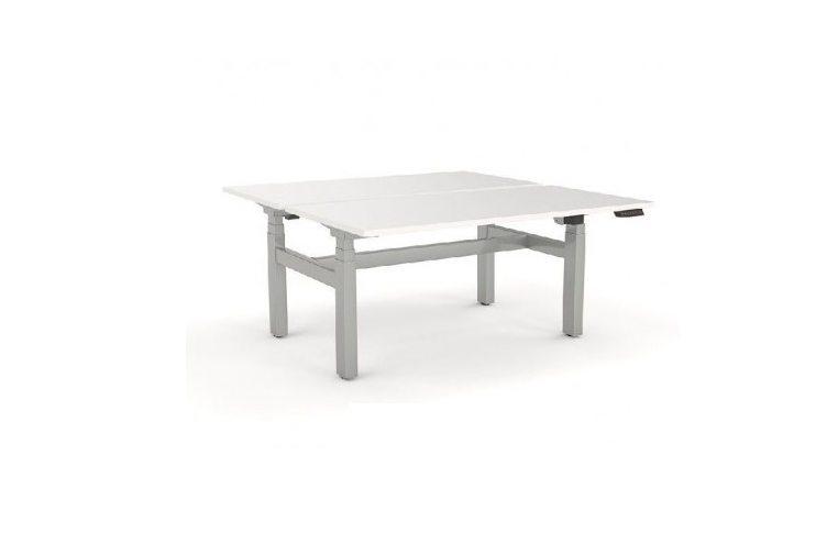 Эргономичные столы: купить Сдвоенный стол с регулировкой высоты AOKE FACE TO FACE - 1