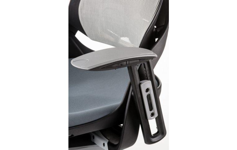 Кресла для руководителя: купить Кресло WAU SLATEGREY FABRIC, SNOWY NETWORK - 8