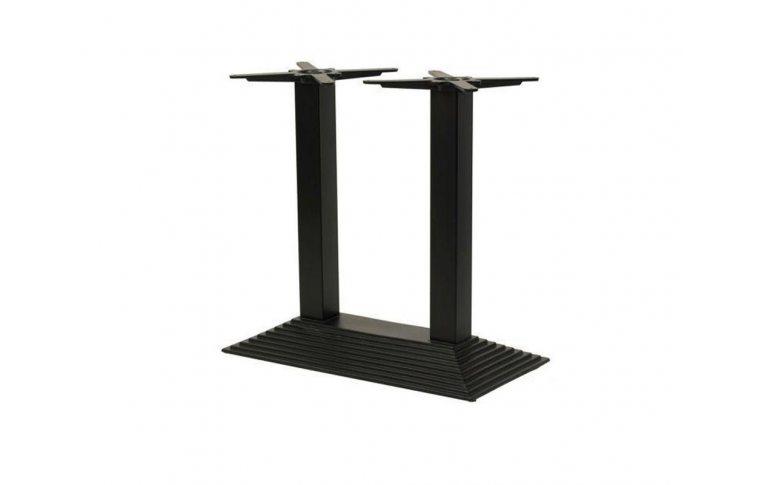 Опоры для столов: купить База Пирамида Дабл черная - 1