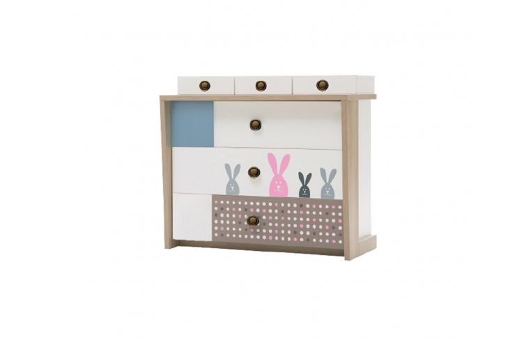 Детская мебель: купить Детский комод (Bunny) LuxeStudio - 1