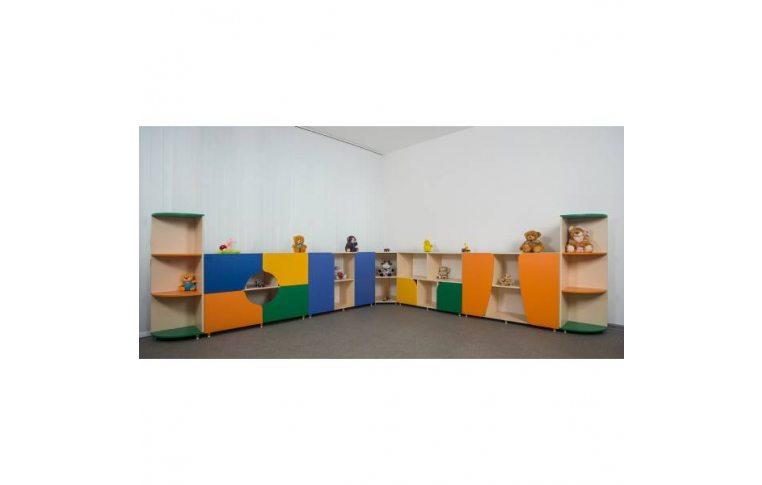 """Мебель для детского сада: купить Стенка """"Сказочный городок"""" - 1"""