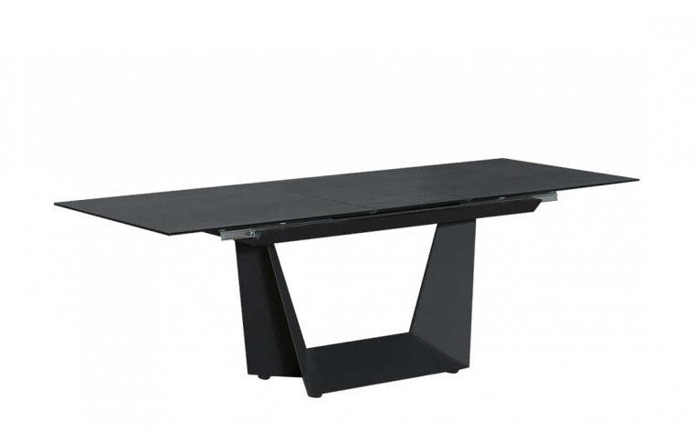 Кухонные столы: купить Стол Антей черный керамика - 3