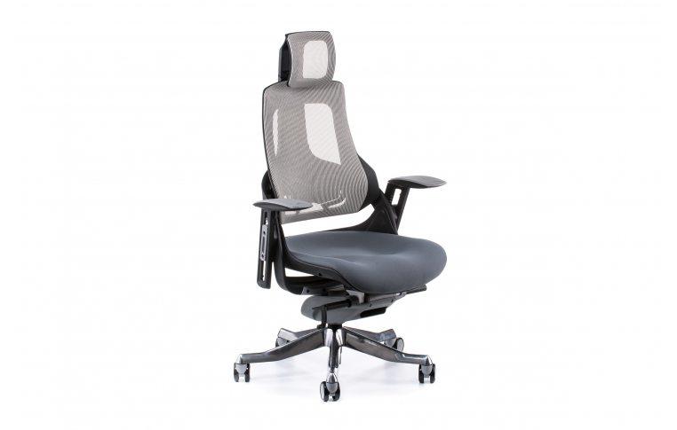 Кресла для руководителя: купить Кресло WAU SLATEGREY FABRIC, SNOWY NETWORK - 6
