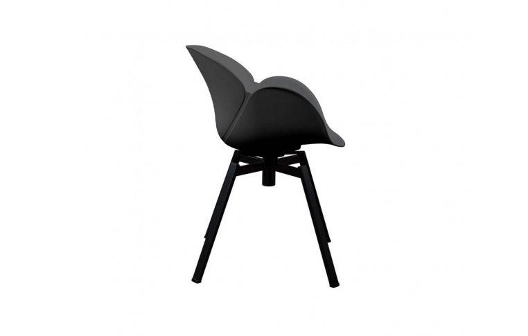 Кресла: купить Кресло поворотное Spider чёрное - 2