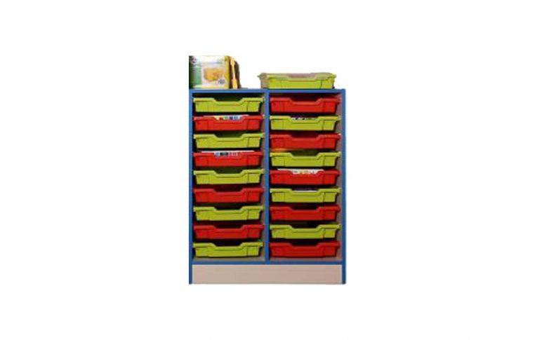 Школьные шкафы: купить Тумба с пластиковыми лотками - 1