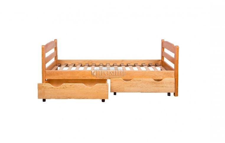 Деревянные кровати: купить Кровать из натурального дерева Зорянка-1 - 1