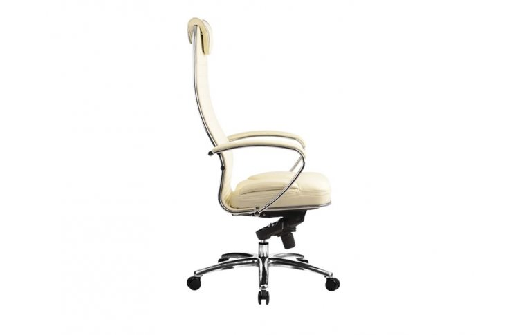 Эргономические кресла: купить Кресло Samurai K-1.02 перфорированная кожа, бежевый - 2