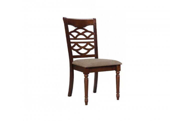 "Кухонные стулья: купить Стул ""Лиана"" (ТК шахматная олива) каштан Domini - 1"