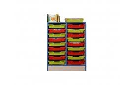 Школьные шкафы: купить Тумба с пластиковыми лотками