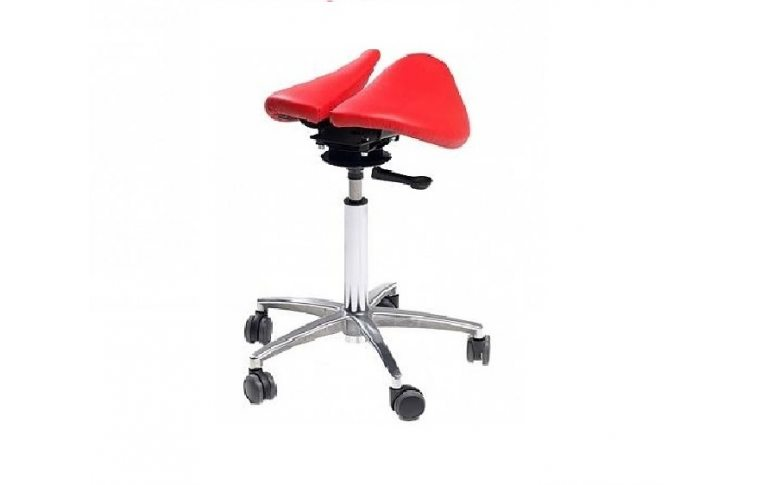 Эргономичные стулья: купить Стул-седло Salli Chin красный - 1