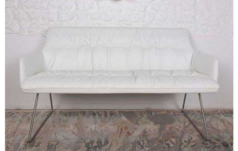Кресла: купить Кресло-банкетка Leon white (Леон белый) - 1