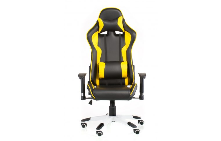 Геймерские кресла: купить Кресло ExtremeRace black/yellow - 2