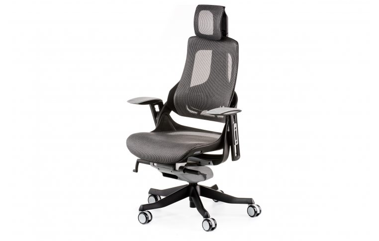 Кресла для руководителя: купить Кресло WAU CHARCOAL NETWORK - 1