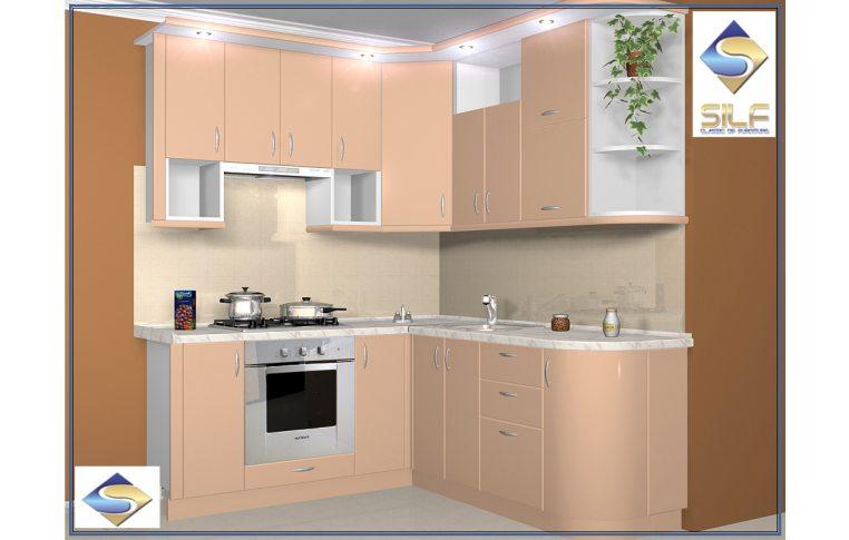 Кухни на заказ: купить Кухня под заказ Белинда Сильф - 1