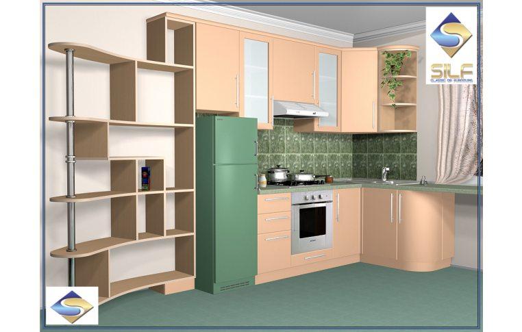 Кухни на заказ: купить Кухня под заказ Ивори Сильф - 1