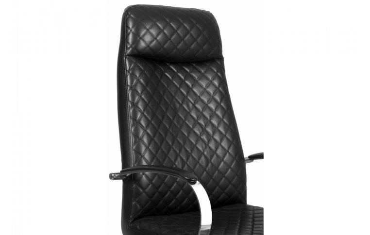 Кресла для руководителя: купить Кресло Barsky Chief Black Rhombus/Red tree chr CF-07 - 5
