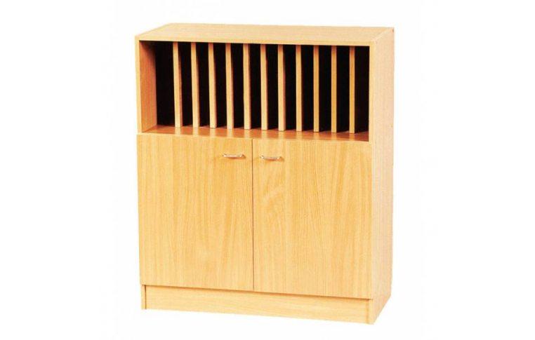 Школьная мебель: купить Секция для журналов нижняя С-013 - 1