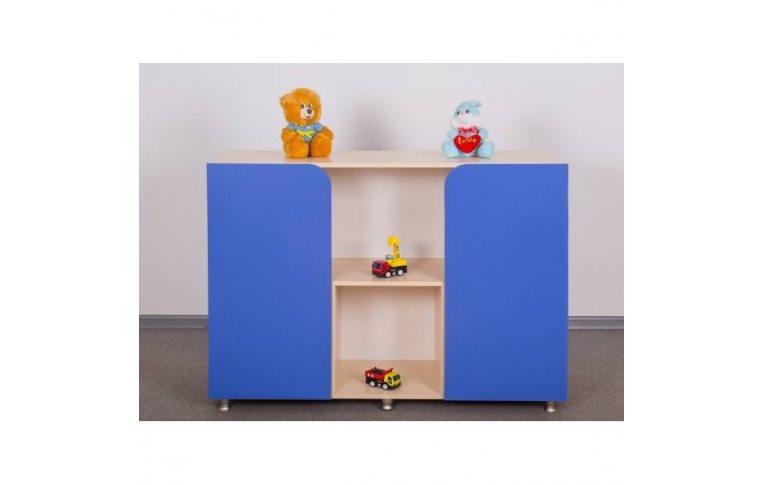 Мебель для детского сада: купить Секция двухдверная Вариант 1 - 1