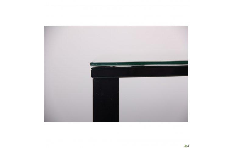 Журнальные столы: купить Стол журнальный Oregon черный/стекло дуб шервуд AMF - 6