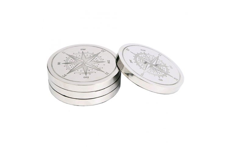 Декор для дома: купить Подставка для чашек 49637 металл nikel Dia.10.5 - 1