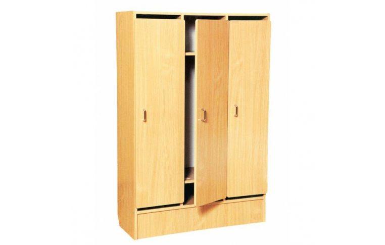 Мебель для детского сада: купить Шкаф для детской одежды - 1