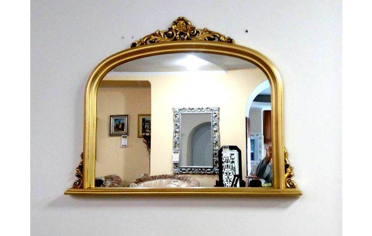 Зеркала в спальню: купить Зеркало PL365 золотая арка - 1