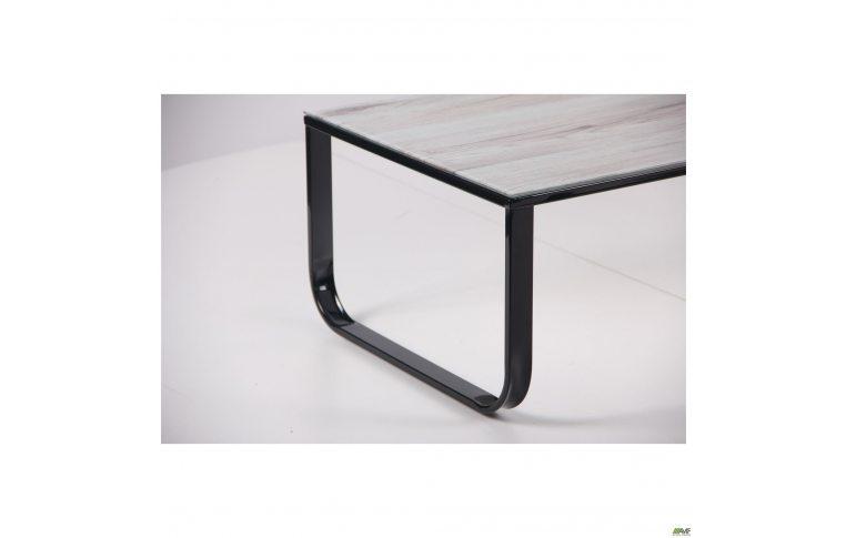 Журнальные столы: купить Стол журнальный Oregon черный/стекло дуб шервуд AMF - 5