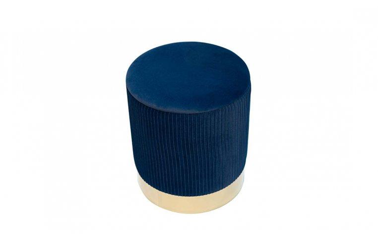 Пуфы: купить Пуф Томас мягкий синий - 6