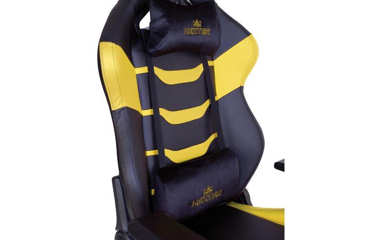 Игровые кресла: купить Кресло для геймеров Hexter rc r4d Tilt mb70 Eco/02 Black/Yellow - 8