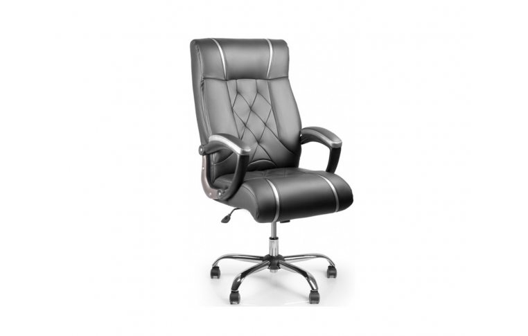 Кресла для руководителя: купить Кресло Barsky Design PU black BD-01 - 1