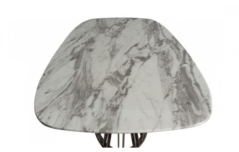 Кухонные столы: купить Стол мраморный Эван Prestol - 4
