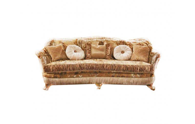 Мягкая мебель: купить Диван прямой Лувр + кресло Лувр, США - 1