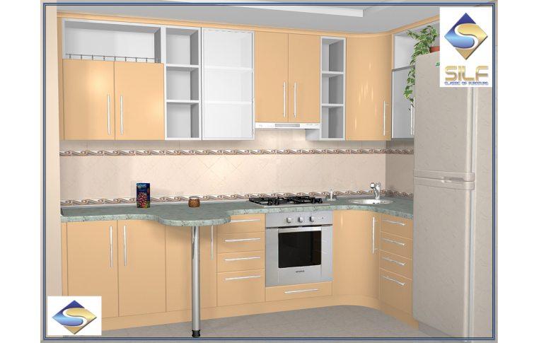 Кухни на заказ: купить Кухня под заказ Бенедикта Сильф - 1