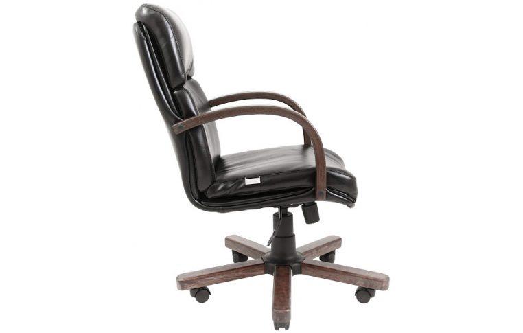 Кресла для руководителя: купить Кресло Дакота Вуд Орех М-1 Флай Richman - 3