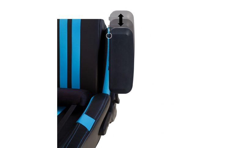 Игровые кресла: купить Кресло для геймеров Hexter Pro r4d Tilt mb70 Eco/03 Black/Blue - 13