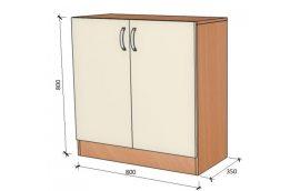 Школьные шкафы: купить Модуль стенка школьная НШ-В-5 -