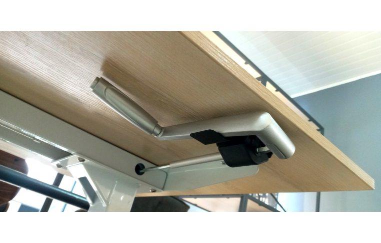 Эргономичные столы: купить Стол с механической регулировкой высоты Aoke Manual - 6