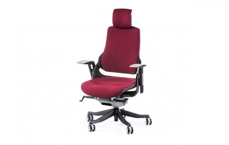 Офисные кресла: купить Кресло WAU BURGUNDY FABRIC - 1