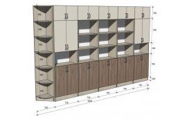 Школьные шкафы: купить Стенка школьная универсальная НШ-СГ -