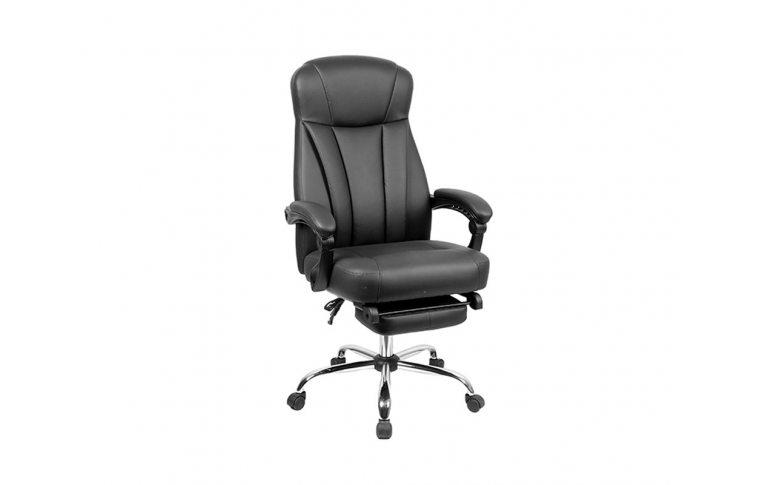 Кресла для руководителя: купить Кресло Smart BL 4329 черный Goodwin - 1