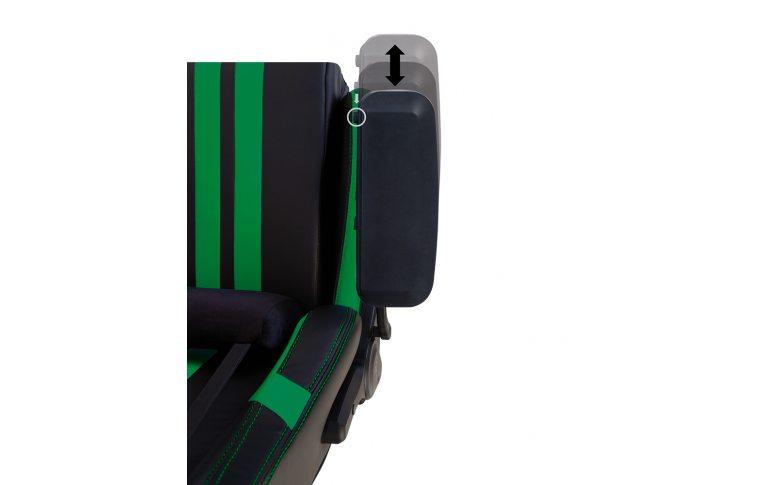 Игровые кресла: купить Кресло для геймеров Hexter Pro r4d Tilt mb70 Eco/03 Black/Green - 11