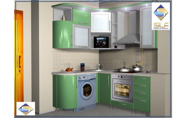 Кухни на заказ: купить Кухня под заказ Импульс Сильф - 1
