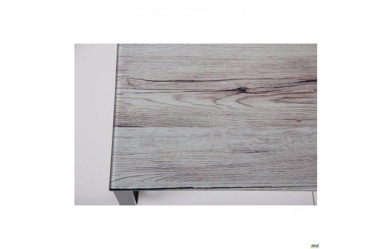 Журнальные столы: купить Стол журнальный Oregon черный/стекло дуб шервуд AMF - 4